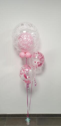 Deco bubble met confettiballon
