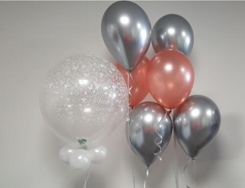 Deco bubble en helium tros 3